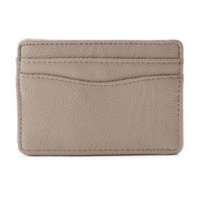 Apt. 9® Pebbled Safekeeper RFID-Blocking Card Case