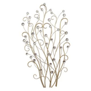 Stratton Home Decor Embellished Branches Wall Decor