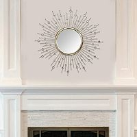 Stratton Home Decor Lucy Sunburst Wall Mirror