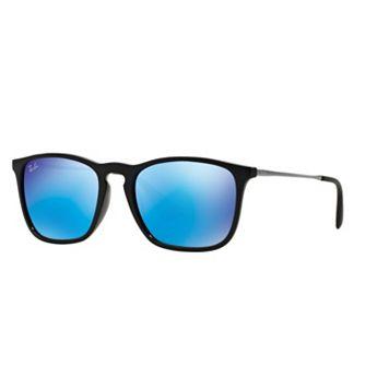 Ray-Ban Chris RB4187 54mm Square Mirror Sunglasses