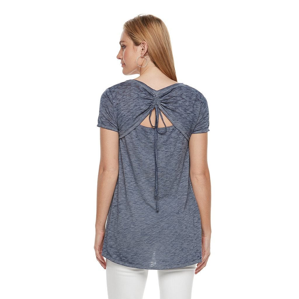 Women's SONOMA Goods for Life™ Drawstring Tee