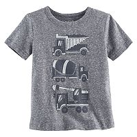 Toddler Boy Jumping Beans® Dump Truck, Cement Mixer & Crane Truck Graphic Tee