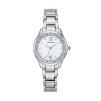 Armitron Women's Crystal Watch - 75/5480SVSVBL