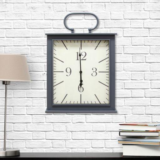 Stratton Home Decor Square Wall Clock