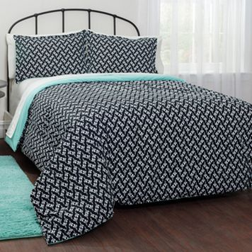 Pop Shop Motif Bedding Set