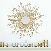 Stratton Home Decor Pia Sunburst Wall Mirror