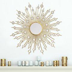 Stratton Home Decor Pia Sunburst Wall Mirror