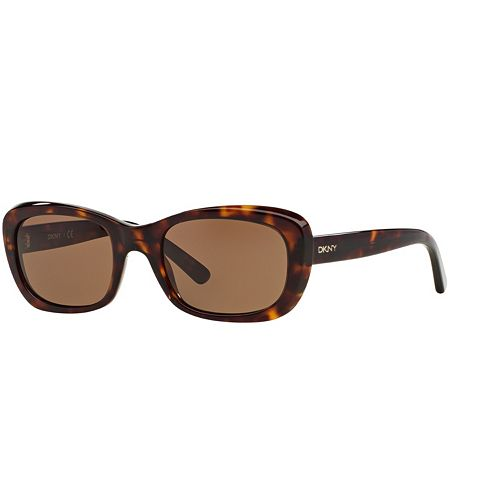 DKNY DY4118 51mm Butterfly Sunglasses