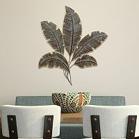 Stratton Home Decor Metal Palm Leaves Wall Decor
