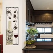 Stratton Home Decor Wine Panel Wall Decor