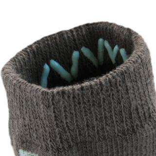 Baby Boy everUP™ 4-pk. Striped Low-Cut Socks