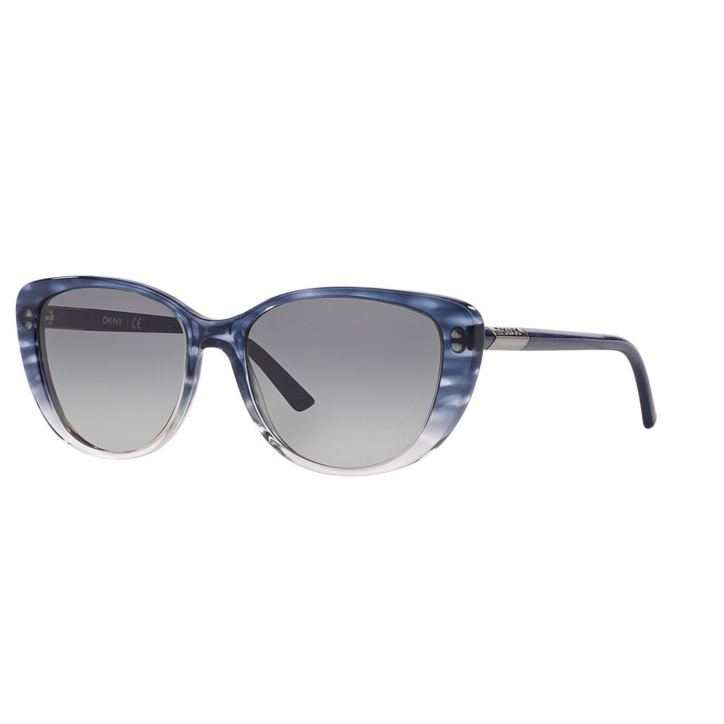 DKNY Girlie Glam DY4121 56mm Cat-Eye Gradient Sunglasses