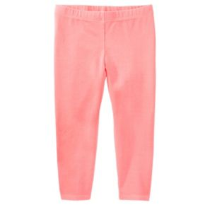 Girls 4-8 OshKosh B'gosh® Solid Crop Leggings