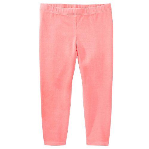Girls 4-8 OshKosh B'gosh® Solid Crop Leggings