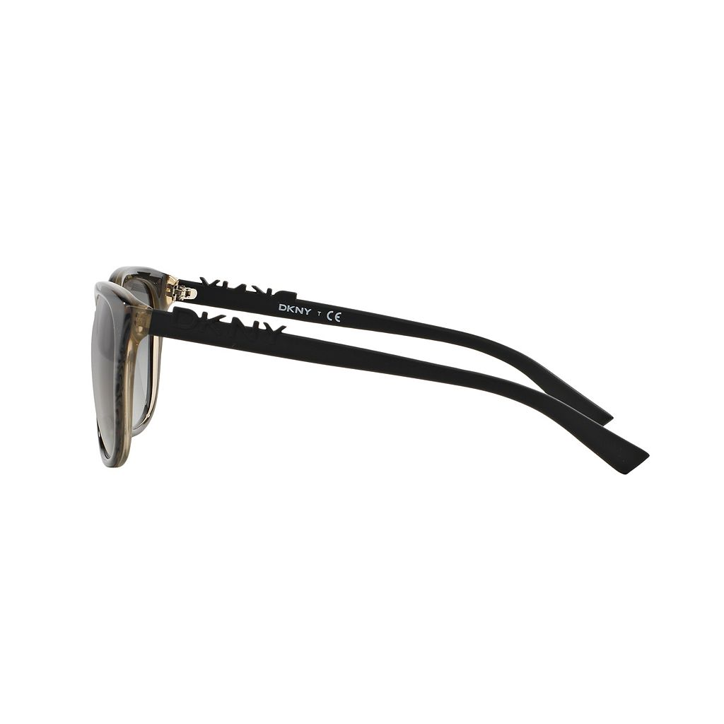 DKNY DY4126 57mm Square Gradient Sunglasses