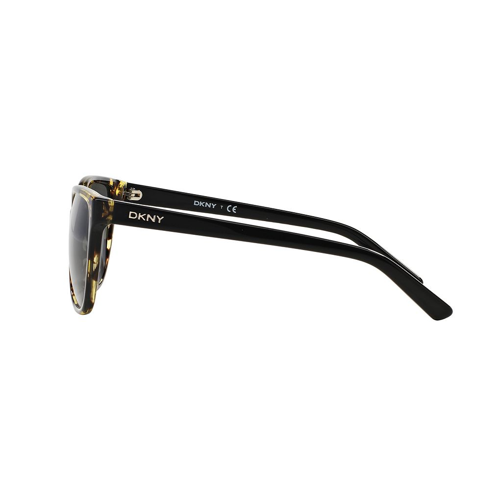 DKNY Downtown Edge DY4129 57mm Square Sunglasses