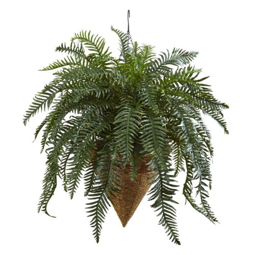 nearly natural Artificial 33-in. Giant River Fern
