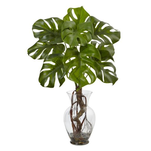 nearly natural Artificial 26-in. Monstera Plant
