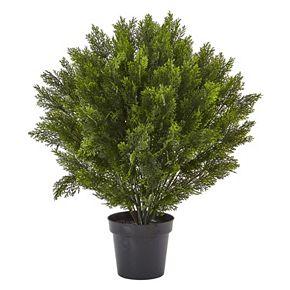 nearly natural Artificial 3-ft. Cedar Bush