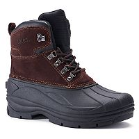 Totes Mount Men's Waterproof Winter Boots