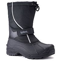 Totes Tidal Men's Slip-On Waterproof Winter Boots