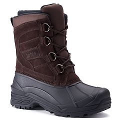 totes Thunder Men's Waterproof Winter Boots