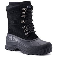 Totes Glaze Men's Waterproof Winter Boots