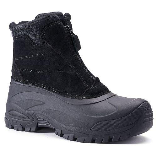 totes Burst Men's Waterproof Winter Boots