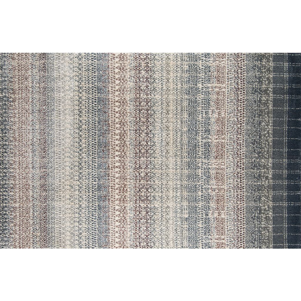 Momeni Lima Elio Striped Shag Rug