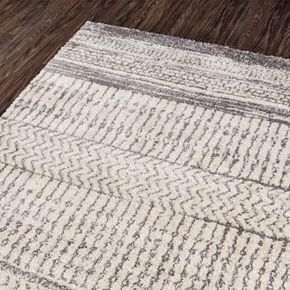 Momeni Lima Lorcan Striped Shag Rug