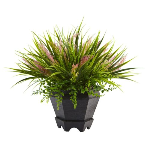 nearly natural 15-in. Artificial Grass Plant