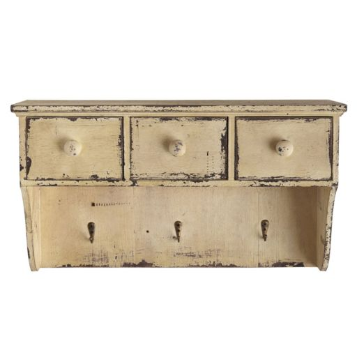 nearly natural Decorative Distressed Wooden Shelf