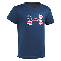 Boys 4-7 Under Armour Logo Patriotic Graphic Tee