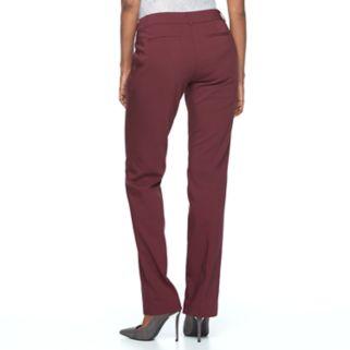 Women's Apt. 9® Torie Straight-Leg Dress Pants