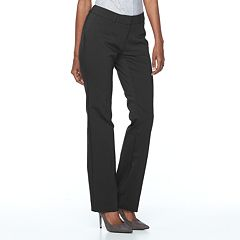 Women's Apt. 9® Torie Midrise Modern Fit Straight-Leg Dress Pants