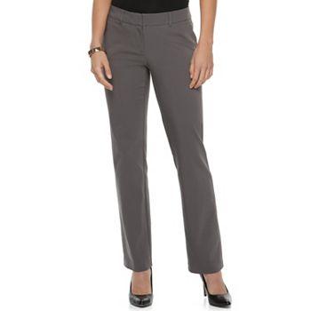 c1ea0f3f93f14 Women s Apt. 9® Torie Midrise Modern Fit Straight-Leg Dress Pants