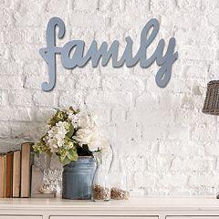 Stratton Home Decor ''Family'' Wall Decor