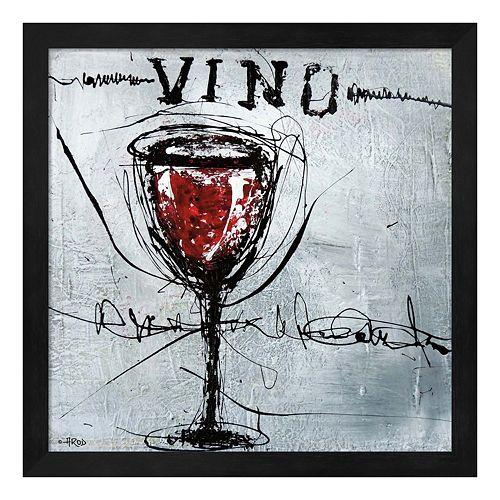 Vino 9 Framed Wall Art