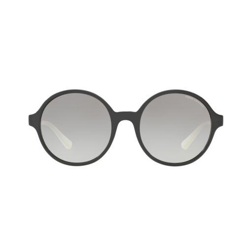 Armani Exchange AX4059S 55mm Round Gradient Sunglasses