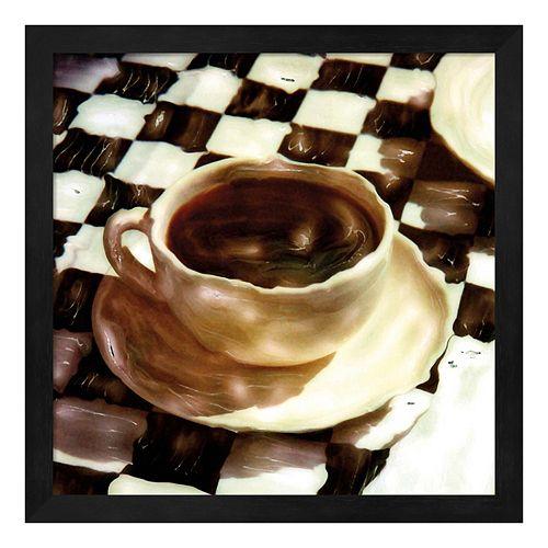 A Little Coffee Time Framed Wall Art