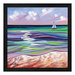 Smooth Sailing Framed Wall Art