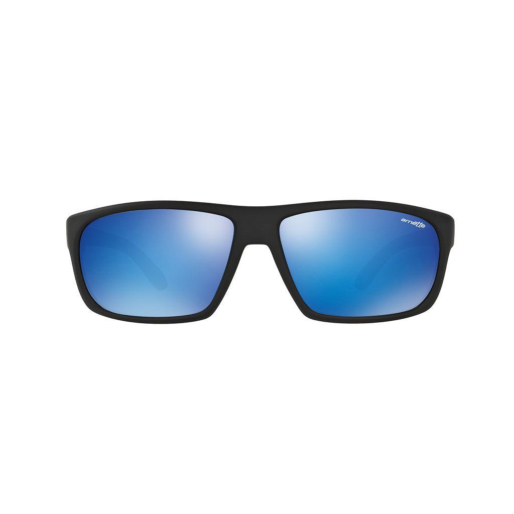 Arnette Burnout AN4225 64mm Rectangle Mirror Sunglasses