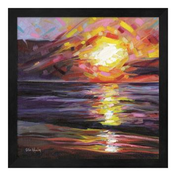 Solar Reflections Framed Wall Art