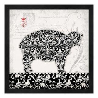 Sheep Framed Wall Art