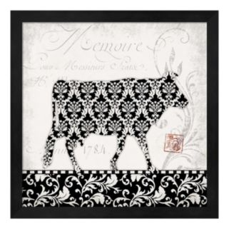 Cow Framed Wall Art