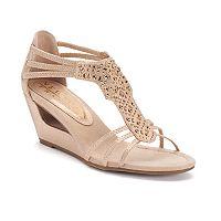 New York Transit Bright Looking Women's Wedge Sandals