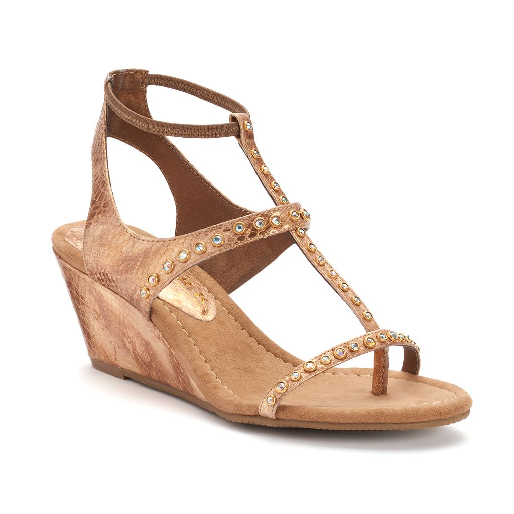 New York Transit Brightest Women's Wedge Sandals