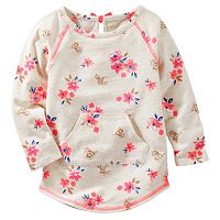 Toddler Girl OshKosh B'gosh® Floral French Terry Pullover