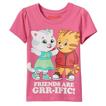 Toddler Girl Daniel Tiger & Katerina Kittycat Graphic Tee