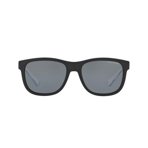 Armani Exchange AX4054S 55mm Square Polarized Sunglasses
